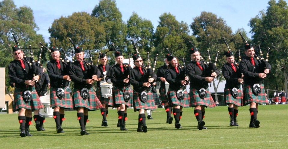 NQ Scots Pipe Band